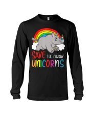 Save The Chubby Unicorns Long Sleeve Tee tile