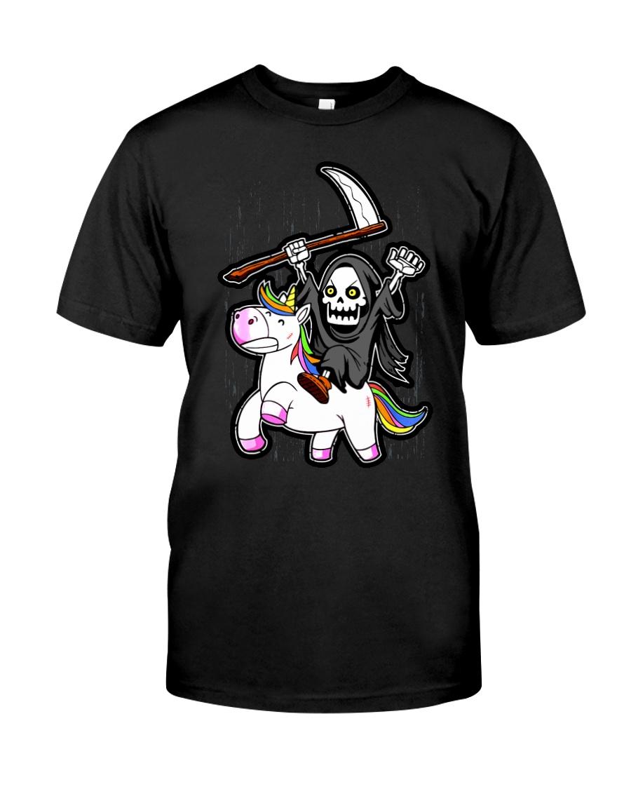Unicorn Death Metal Classic T-Shirt