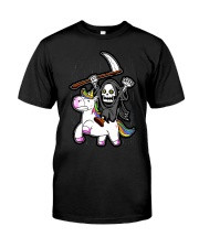 Unicorn Death Metal Classic T-Shirt front