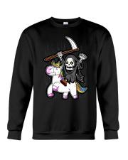 Unicorn Death Metal Crewneck Sweatshirt thumbnail