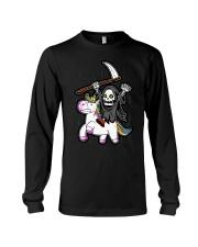 Unicorn Death Metal Long Sleeve Tee thumbnail