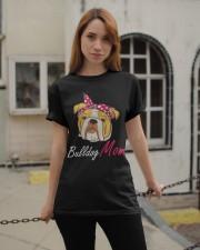 Bulldog Mom Classic T-Shirt apparel-classic-tshirt-lifestyle-19