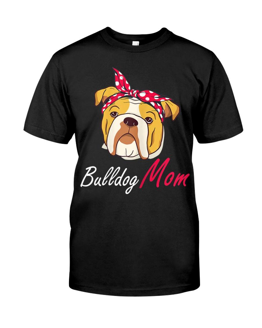 Bulldog Mom Classic T-Shirt