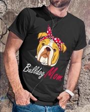 Bulldog Mom Classic T-Shirt lifestyle-mens-crewneck-front-4