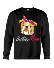 Bulldog Mom Crewneck Sweatshirt thumbnail