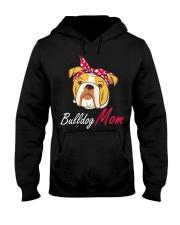 Bulldog Mom Hooded Sweatshirt thumbnail
