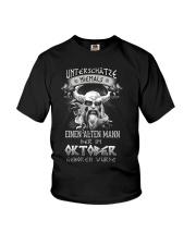 Oktober Geboren Wurde Youth T-Shirt tile