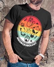 Meowcrobiology Classic T-Shirt lifestyle-mens-crewneck-front-4