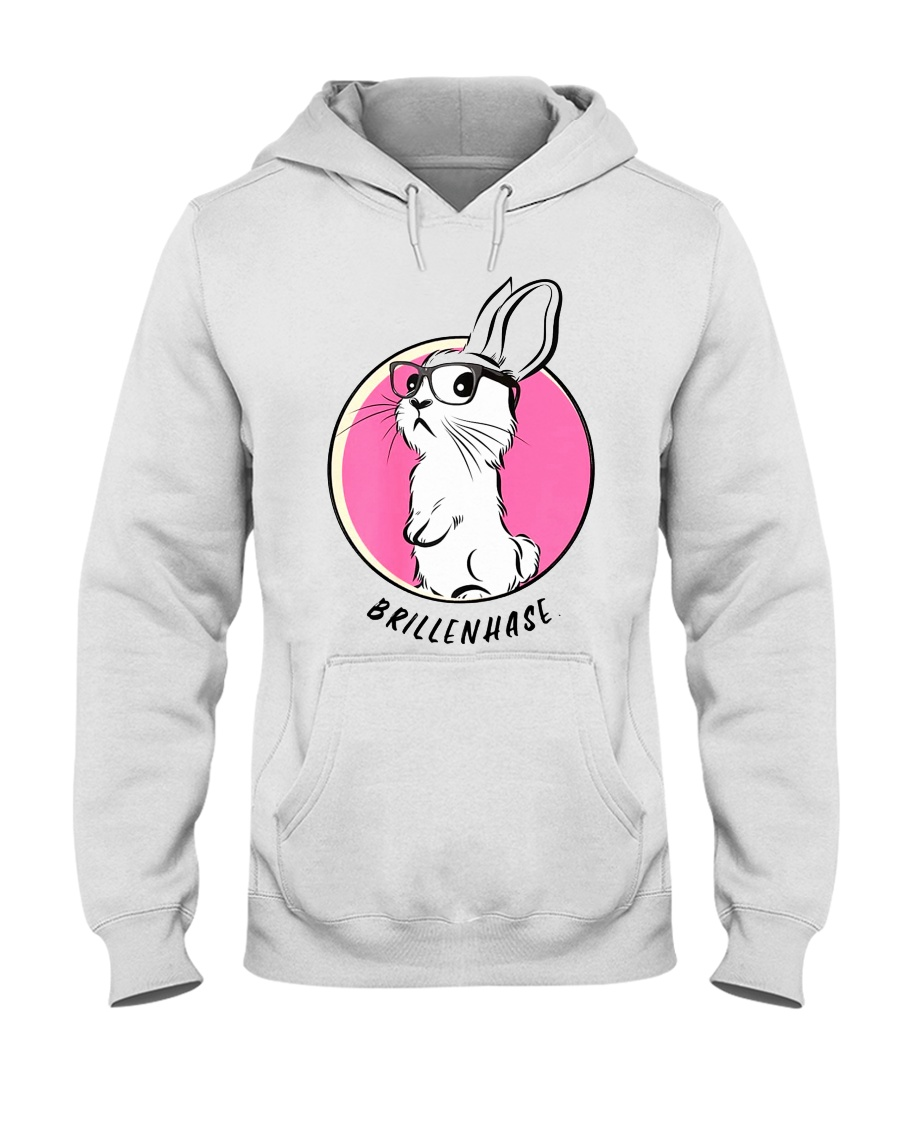 Brillenhase Hooded Sweatshirt