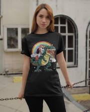 Unicorn saurus Classic T-Shirt apparel-classic-tshirt-lifestyle-19