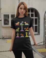 Dachshund Halloween Classic T-Shirt apparel-classic-tshirt-lifestyle-19