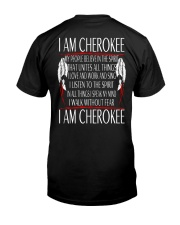 I Am Cherokee Classic T-Shirt back