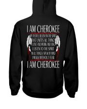 I Am Cherokee Hooded Sweatshirt tile