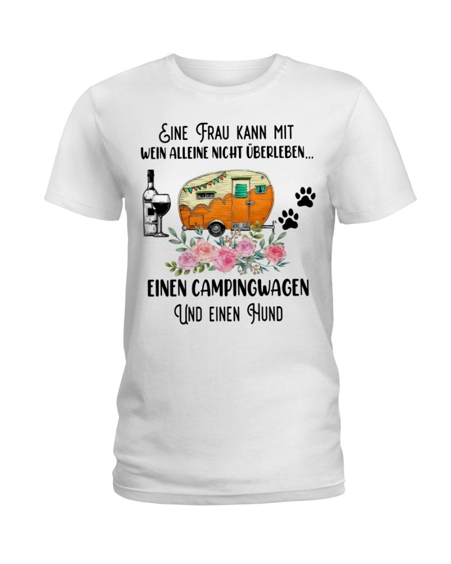 Camping Ladies T-Shirt
