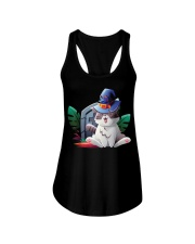 Cat Halloween Ladies Flowy Tank thumbnail