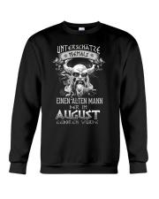 August Geboren Wurde Crewneck Sweatshirt tile