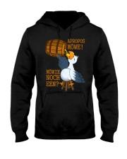 Unique Hooded Sweatshirt front