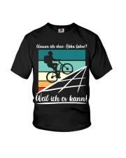 Warum ich ohne akku fahre Youth T-Shirt thumbnail