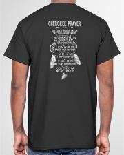 Cherokee Prayer Classic T-Shirt garment-tshirt-unisex-back-04