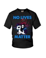 No Lives Matter Youth T-Shirt tile