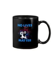 No Lives Matter Mug tile