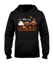 HaloThanksGiveMas Hooded Sweatshirt front