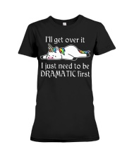 Dramatic-2 Premium Fit Ladies Tee thumbnail