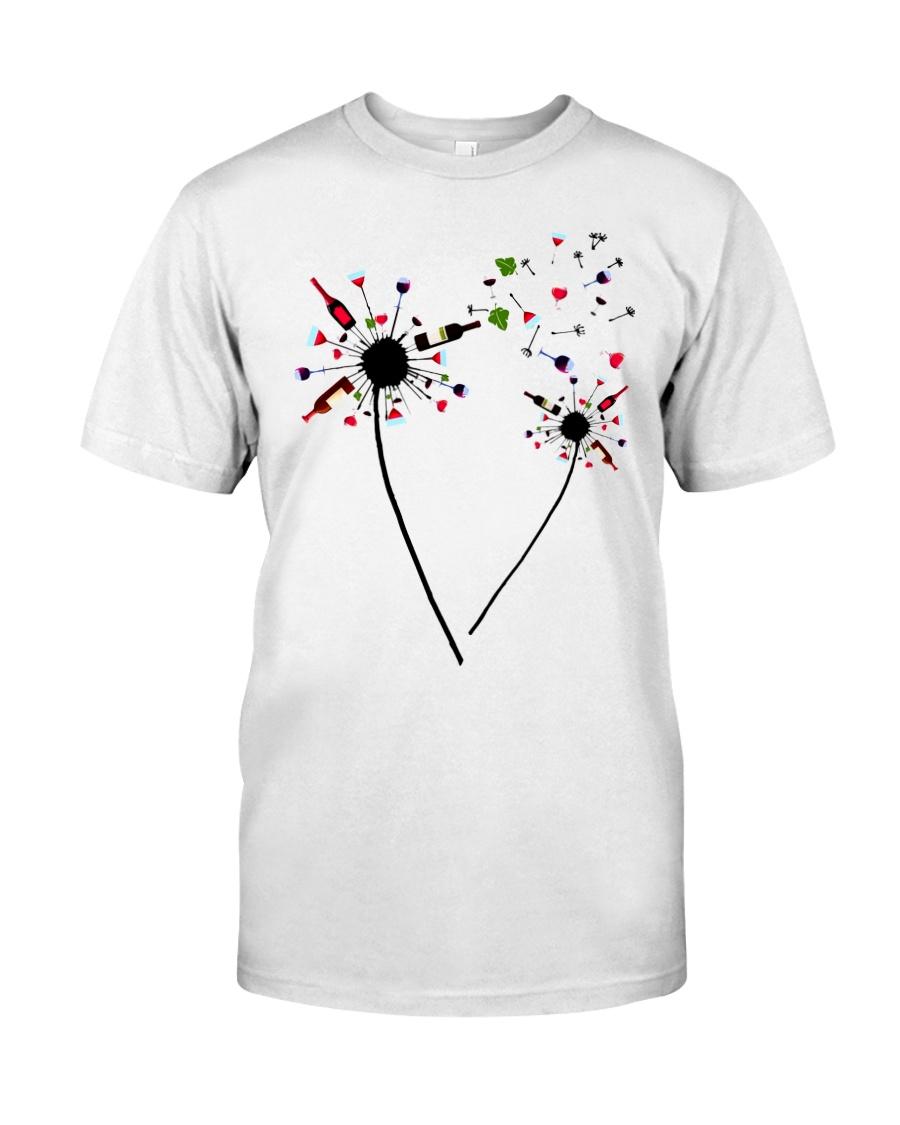 Wine Dandelion Drinking Classic T-Shirt