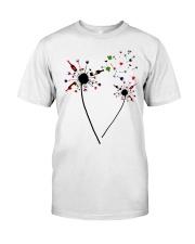 Wine Dandelion Drinking Classic T-Shirt front