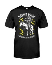 Native American Pride Classic T-Shirt front