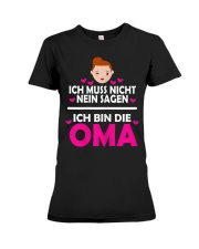 Oma Premium Fit Ladies Tee thumbnail