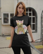 Funny French bulldog Classic T-Shirt apparel-classic-tshirt-lifestyle-19