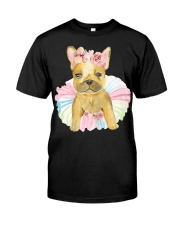 Funny French bulldog Classic T-Shirt front