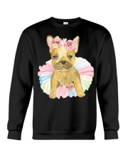 Funny French bulldog Crewneck Sweatshirt tile