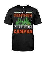 Zeit zum campen Classic T-Shirt front