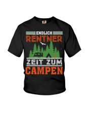 Zeit zum campen Youth T-Shirt thumbnail
