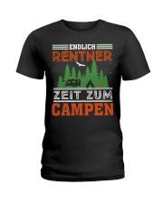 Zeit zum campen Ladies T-Shirt thumbnail