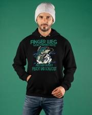 Finger Weg Von Meiner Rute Hooded Sweatshirt apparel-hooded-sweatshirt-lifestyle-front-77
