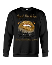April Mädchen Crewneck Sweatshirt tile