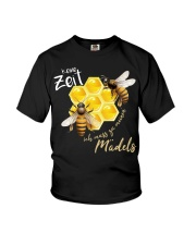 Keine zeit ich muss zu meinen mädels Youth T-Shirt thumbnail
