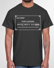 Light Armor T-Shirt Classic T-Shirt garment-tshirt-unisex-front-03