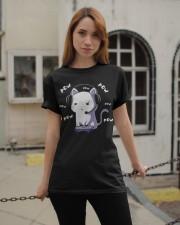 Pow Cat Classic T-Shirt apparel-classic-tshirt-lifestyle-19