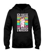 Unicorn Funny Hooded Sweatshirt front