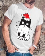 Merry Catmas Classic T-Shirt lifestyle-mens-crewneck-front-4