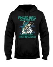 Finger Weg Von Meiner Rute Hooded Sweatshirt front