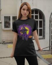 Cat Halloween Classic T-Shirt apparel-classic-tshirt-lifestyle-19