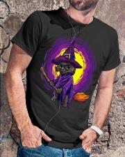 Cat Halloween Classic T-Shirt lifestyle-mens-crewneck-front-4