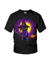 Cat Halloween Youth T-Shirt thumbnail