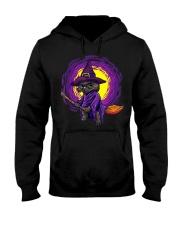 Cat Halloween Hooded Sweatshirt thumbnail