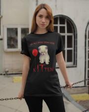Halloween Kitten Classic T-Shirt apparel-classic-tshirt-lifestyle-19